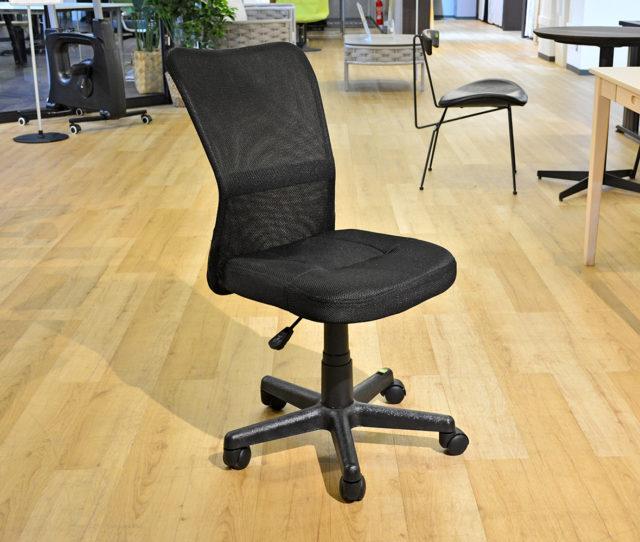 当店最安値オフィスチェア!座面昇降、キャスター付きと基本的な機能もばっちり!背もたれは通気性のよいメッシュ生地で快適♪