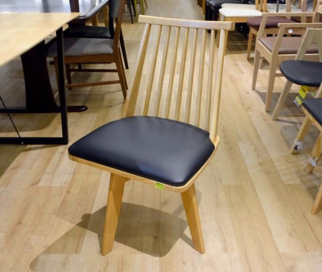 和風モダンな単品ダイニングチェア!回転式で立ち座りもラク!美しいデザインで機能性も見た目も◎座面はPVC素材でお手入れ簡単!