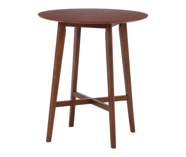 お部屋でカフェバー気分が味わえる木製バーテーブル!落ち着いたブラウンカラーでどんなお部屋にも合わせやすい!高さがあるのでちょっとした作業台やディスプレイテーブルとしても◎