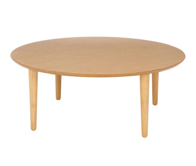 和室でも洋室でも使えるシンプルな円形ちゃぶ台テーブルが安い!高さ38cmと低めなのでお部屋に圧迫感を感じさせないデザイン!ワンルームのお部屋に◎天板も広めなので食事やデスクワークにもオススメ♪